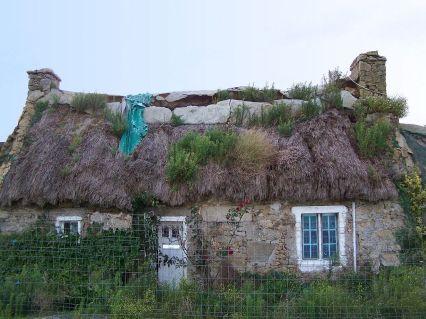 face maison de pêcheur délabrée !