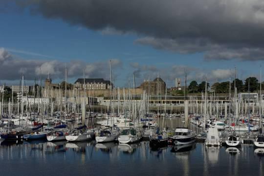 Port de plaisance du chateau Brest