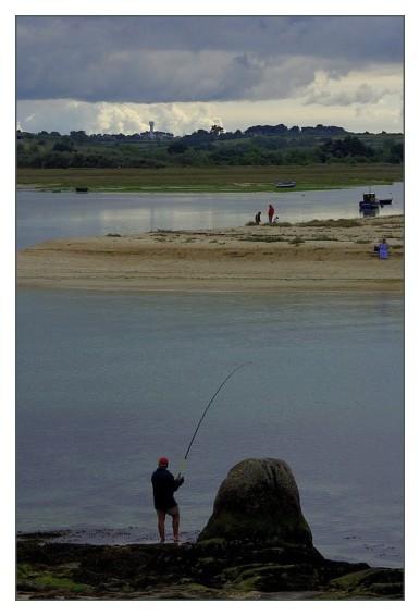 pêcheur baie de kernic