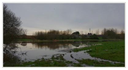 ruisseau de l'étang du pont en crue à Roudouz01
