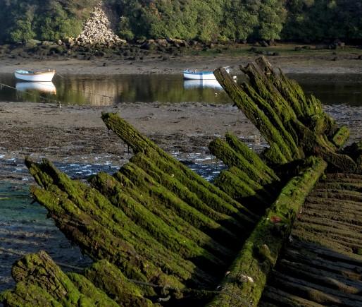 épave bateau, Lampaul Plouarzel