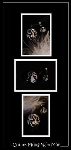 triptyque tigre