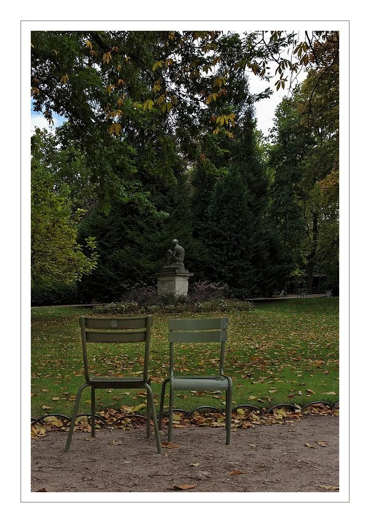 S assoir au jardin du luxembourg la tribu d 39 anaximandre for Au jardin du luxembourg