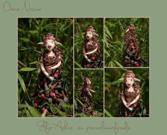 Dame-nature Elfe Arbre