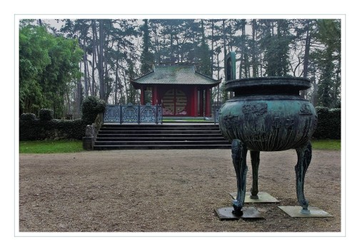urnes dynastiques jardin tropical de Vincennes