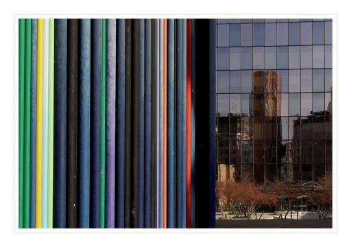 Tour Moretti et son reflet - la Défense