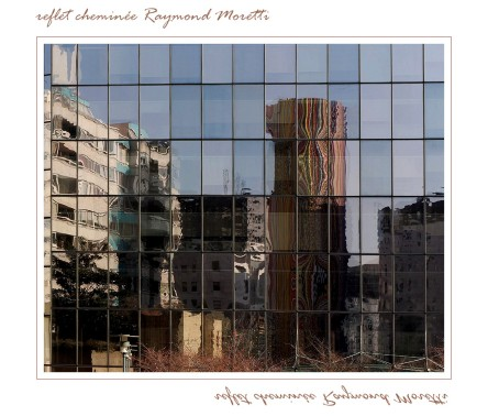 reflets tour de verre à la Défense - Tour Moretti