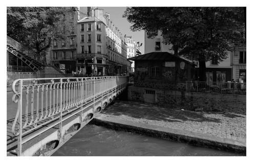 pont tournant canal saint-Martin