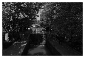 canal saint-Martin - passage d'écluse