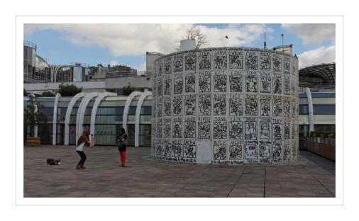 forum des Halles le cylondre à toto de Jofo
