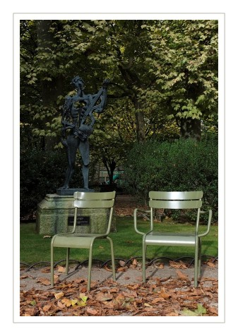 chaises au jardin du luxembourg