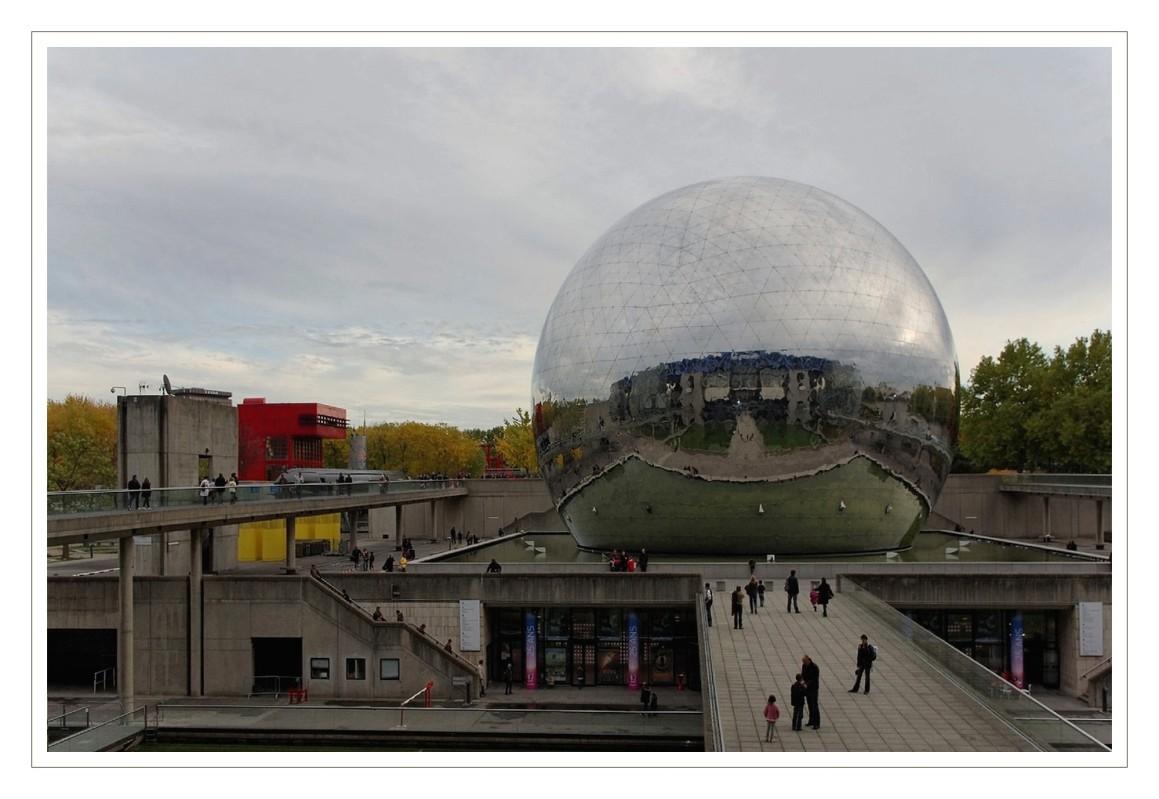 la géode Cité des Sciences