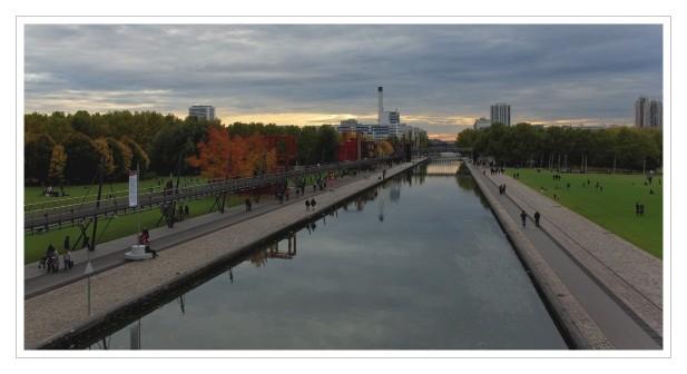 canal de l'Ourq La Vilette