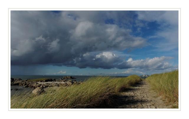 chemin côtier pointe de Dibennou 2 Guissény sur mer