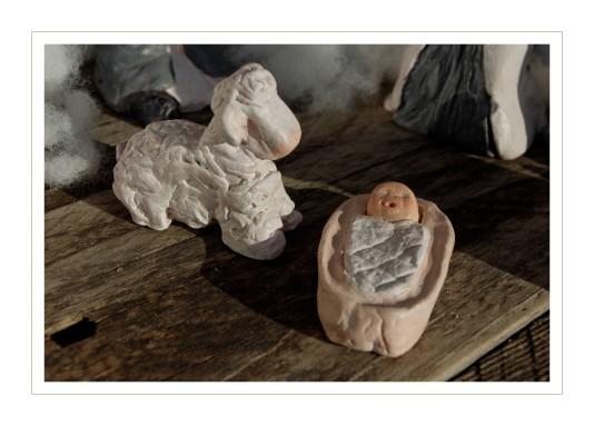 le mouton et l'enfant Jésus