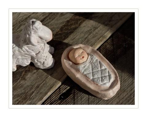 l'enfant Jésus et le mouton