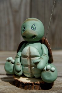 tortue porte photo enporcelaine