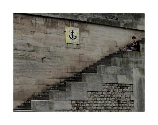 sur les quais de la Seine