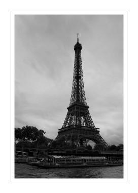 la Tour Eiffel en Noir & Blanc