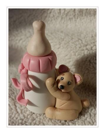 biberon et ourson-naissance