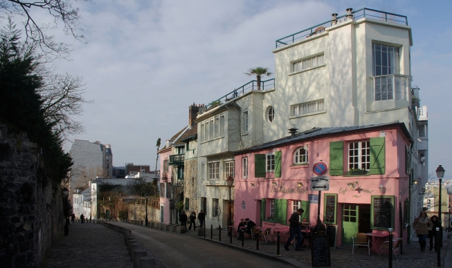 La Maison Rose Montmartre Paris 18e