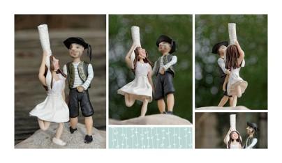montage couple mariés bretons