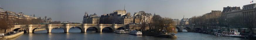 panorama pont neuf île de la cité paris - Copie