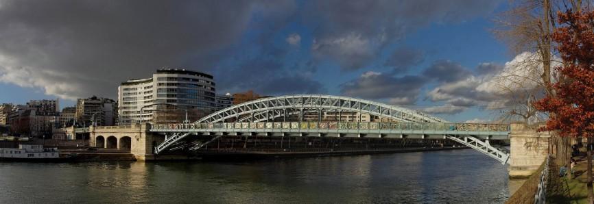 panorama pont paris