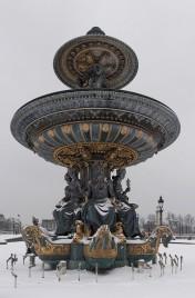 fontaine de la Mer, place de la Concorde Paris