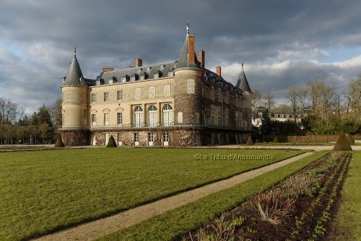 façade arrière château de Rambouillet