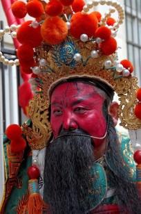 rouge de plaisir ;-) nouvel an chinois 2013 Paris