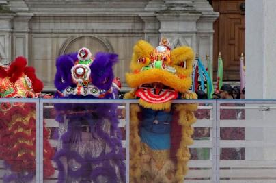 les dragons nous font de l'oeil nouvel an chinois 2013 Paris