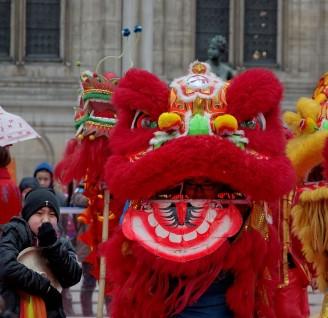 sourire de dragon, nouvel an chinois 2013 Paris