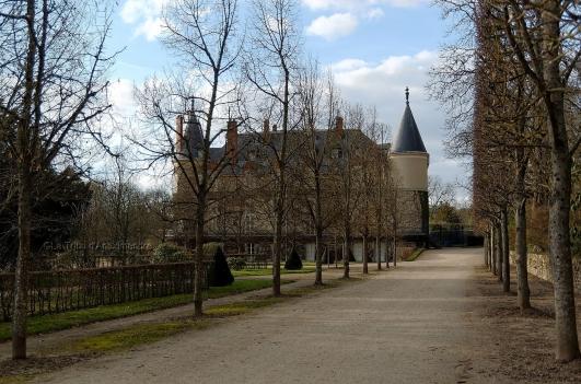 château de Rambouillet côté jardin