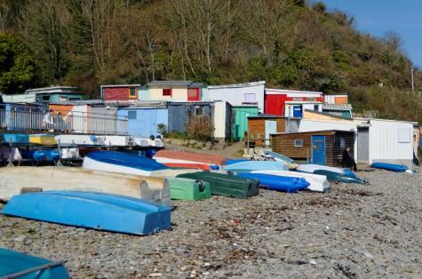 cabanes du port de Masison Blanche - Brest