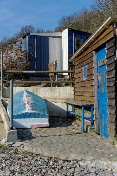 cabanes du port de Maison Blanche - Brest