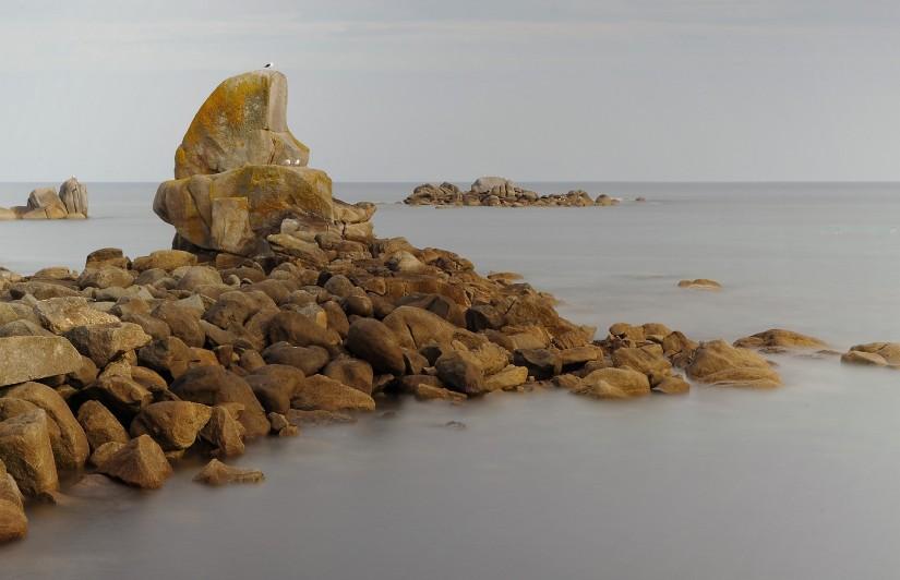 rocher de Cléder - pose longue -