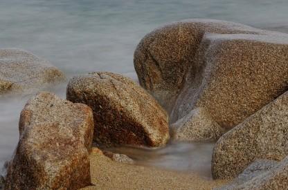 Pose longue rochers Poulennou - Cleder