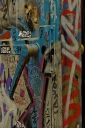 Détail poignée porte Les Frigos, Paris 13e