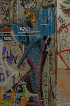 Ancienne porte de frigo relookée Paris 13e