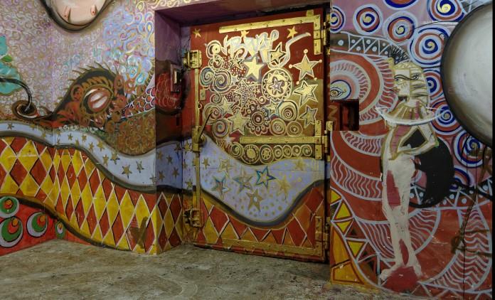 Ancienne porte des Frigos relookée - Paris 13e
