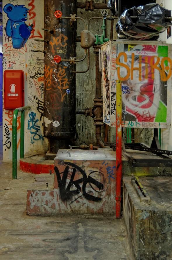 parties communes taggées les Frigos, Paris 13e