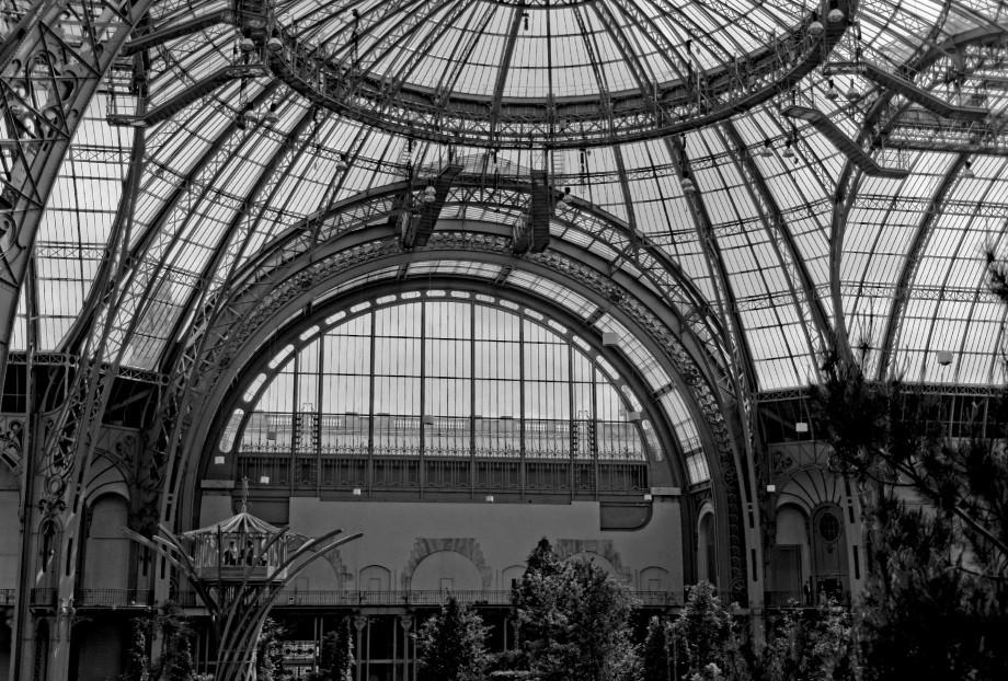 cabane perchée Pommery au Grand Palais, l'Art du Jardin, Paris