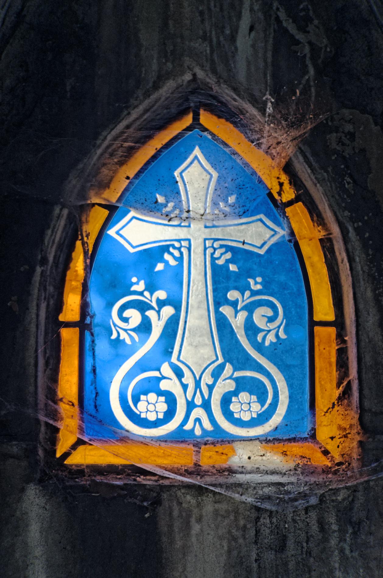 cimetière du Père Lachaise, Paris, vitrail, caveau,