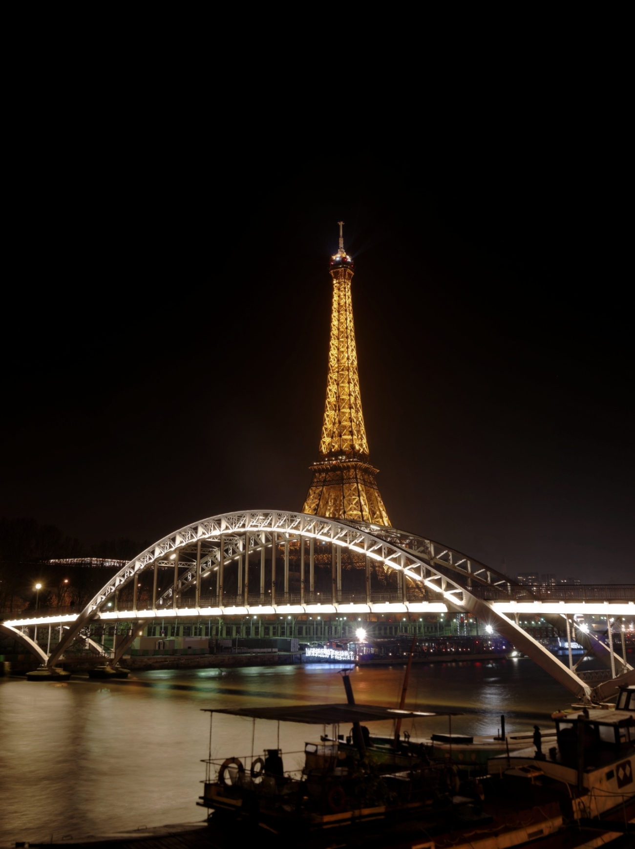 Paris, Tour Eiffel, Tour Effeil de nuit, Paris by night, Passerelle Debilly, photos de nuit