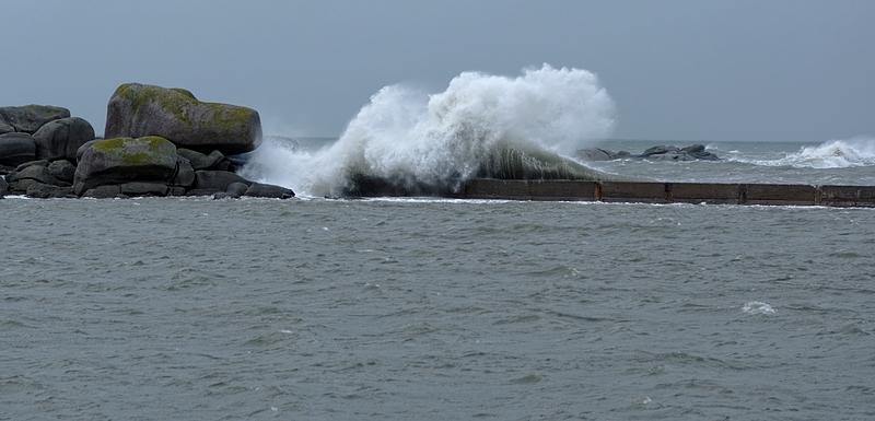 vagues tempe^te du 01/01/2014