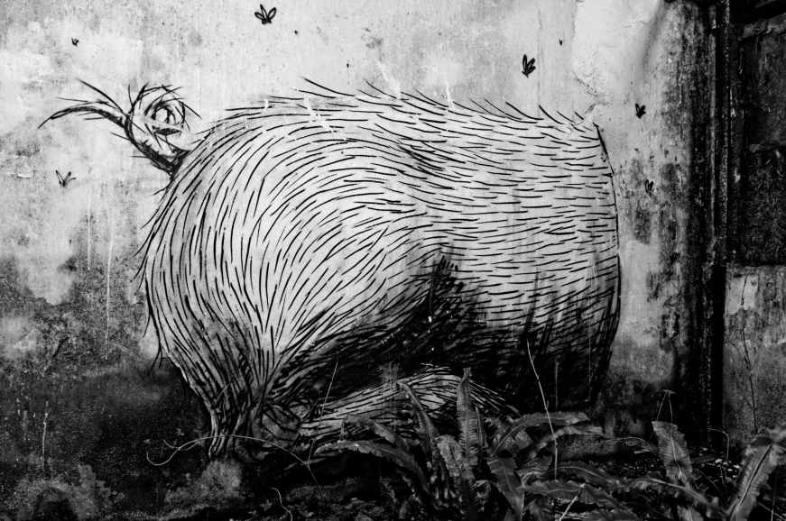 ROA, tags ancien abattoir à cochons