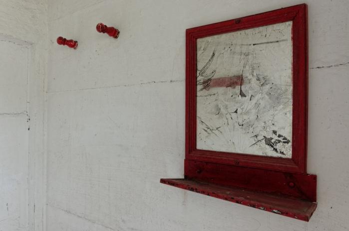 urbex, piscine abandonnée, l'intérieur des cabines