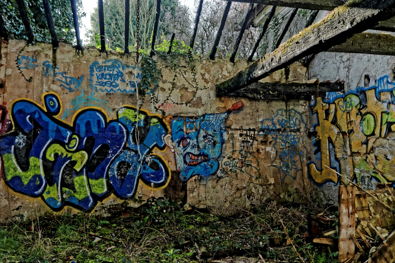 maison abandonnée, urbex, exploration urbaine, île de la Dérivation, Carrière sous Poissy