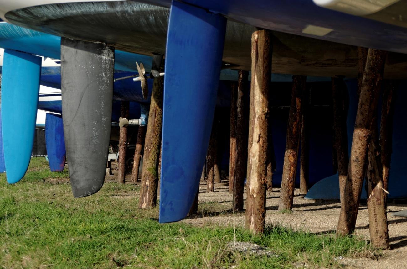 bateaux, reflets, Vannes, Quai Bernard Moitessier, carénage, radoub, Morbihan